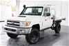2011 Toyota Landcruiser Workmate VDJ79R Turbo Diesel Manual Cab Chassis
