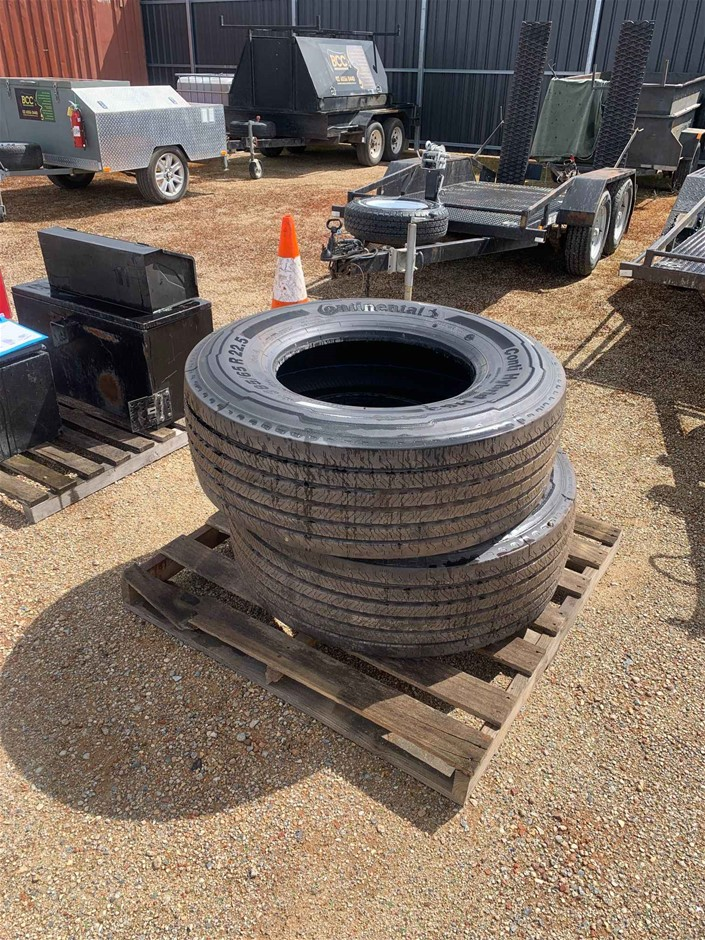 Continental Hybrid HS3 Truck Tyres
