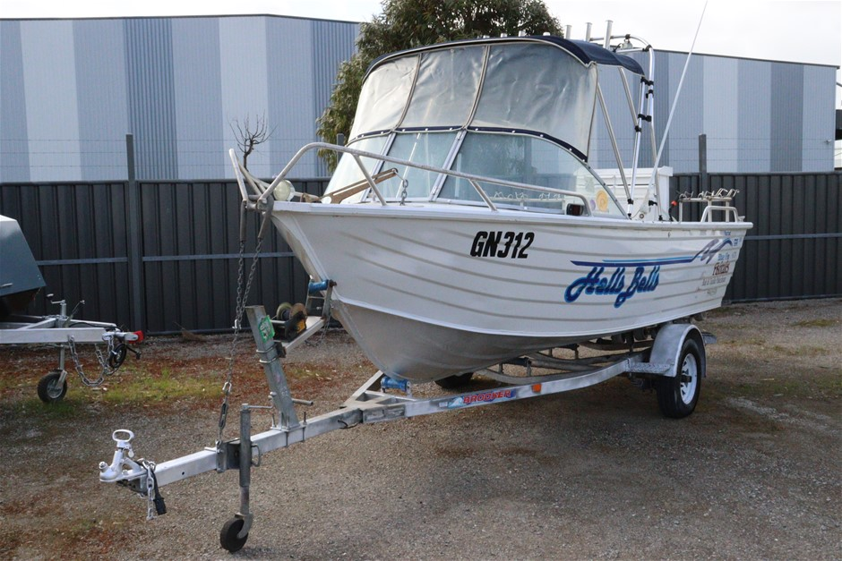 BLUE FIN 4.75 PRO FISHER