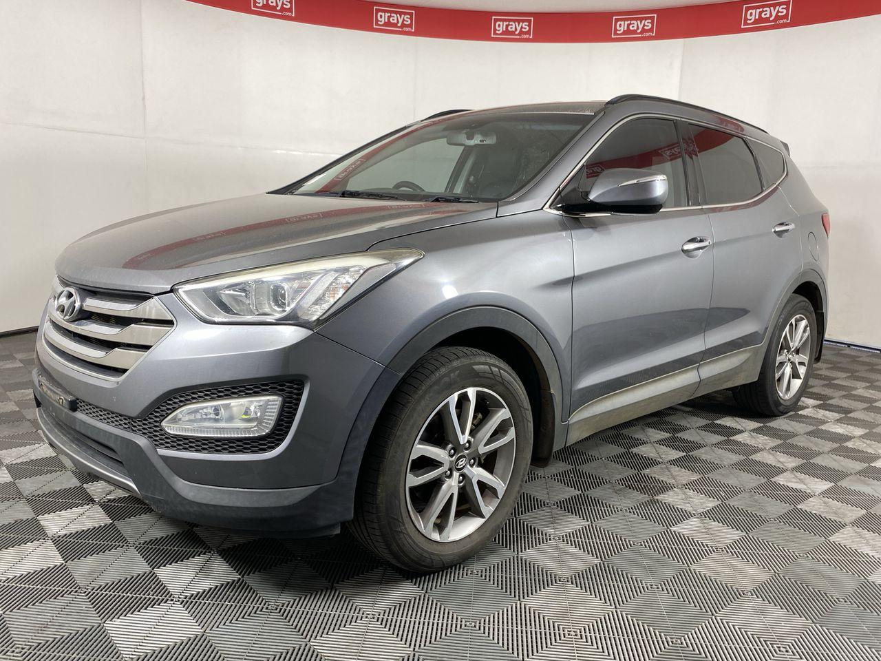 2012 Hyundai Santa Fe Elite DM Turbo Diesel Automatic 7 Seats Wagon