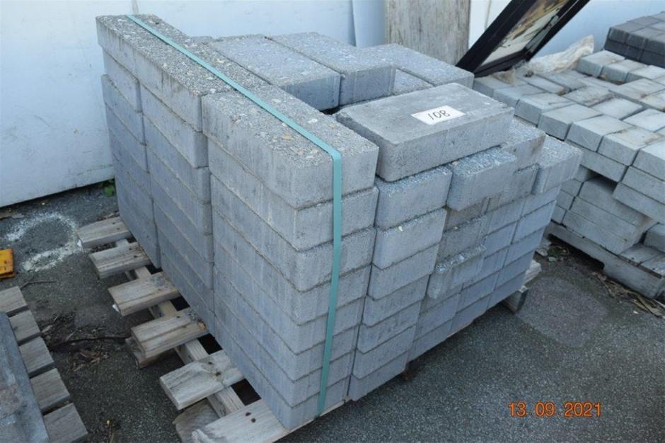 Lot of 97 Concrete Pavers