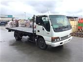 Unreserved 1997 Isuzu NPR 200 Medium  4 x 2 Tray Truck