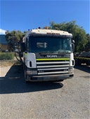 Unreserved Scania P94 Series Tray Body Truck