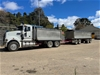 Mack Tipper Truck & Dog Trailer Combination