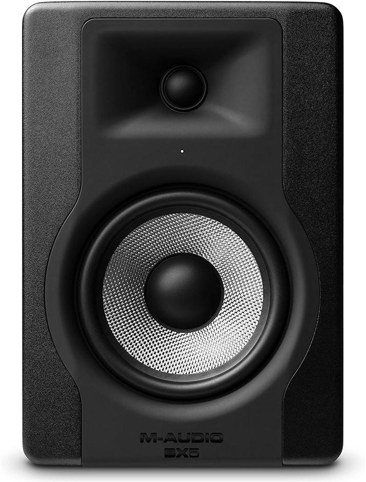 "M-AUDIO Active Studio Monitor Speaker, Model BX5 D3, Compact 2-Way 5"", For"