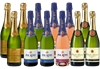 Mixed French Bubbles Pack #2 (12x 750mL)