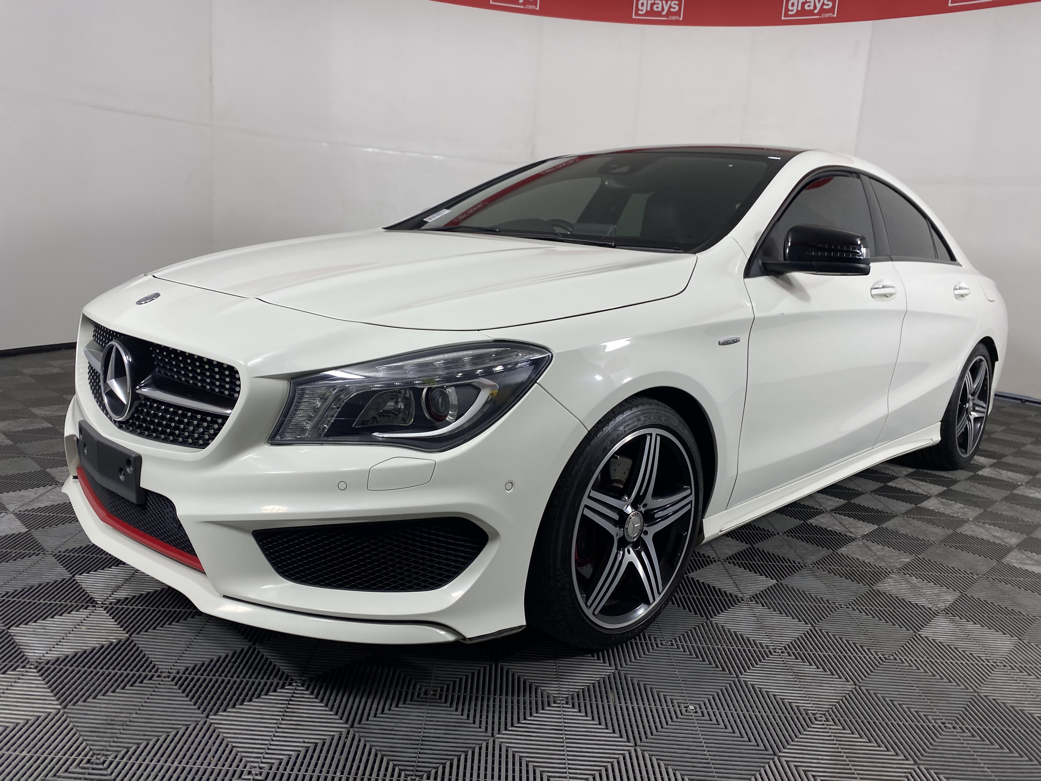 2015 Mercedes Benz CLA250 SPORT 4MATIC C117 Auto Coupe 97,678km