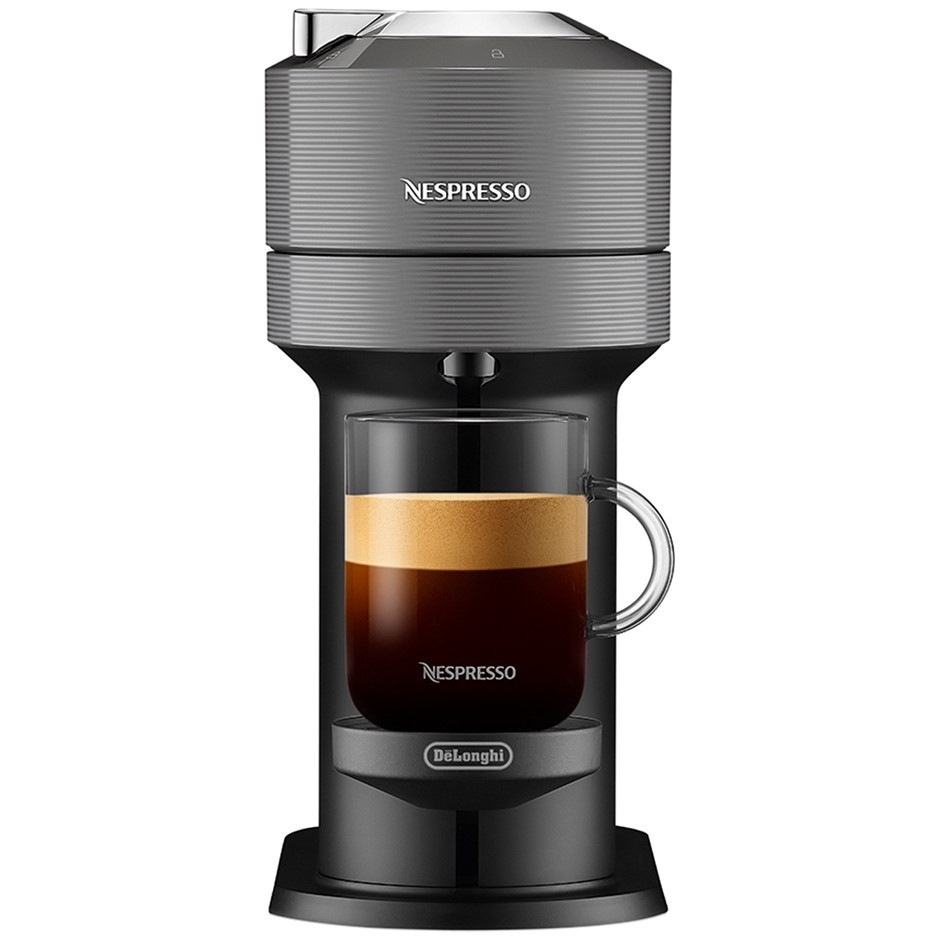 NESPRESSO Vertuo Next Solo Capsule Coffee Machine, Grey. N.B. Minor use. Bu