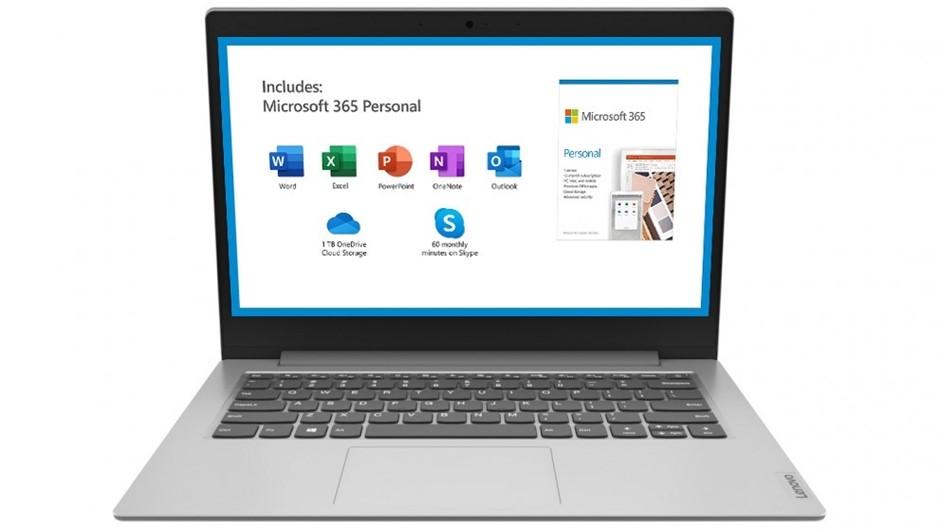 Lenovo IdeaPad Slim 1 11.6-inch Notebook, Platinum Grey
