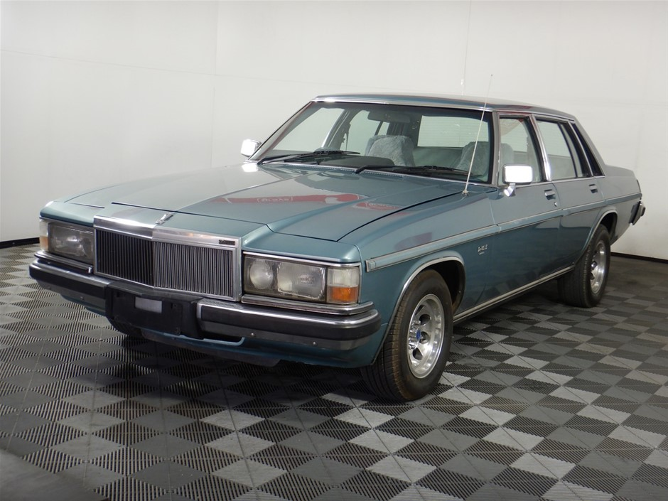 1984 Holden WB Statesman Devi FWD Automatic Sedan