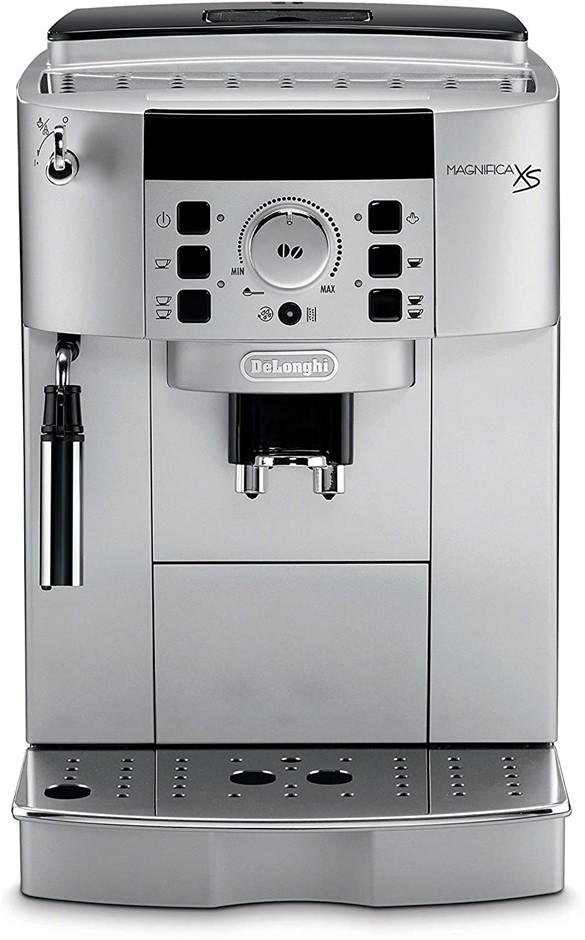 "DE'LONGHI Espresso Machine, 13.8"", Silver, Model: ECAM22110SB. NB: Minor Us"
