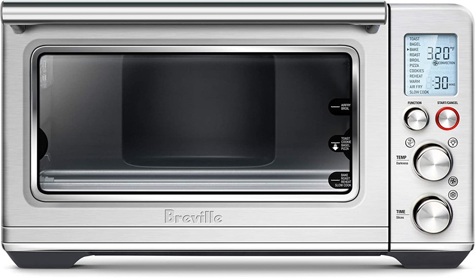 BREVILLE Smart Oven Air Fryer, Countertop Convection Oven, Brushed Stainles