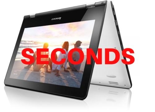 Lenovo Yoga 300-11IBR 11.6-inch HD Notebook - White & Black