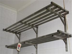 Over Shelf Pot Rack Stainless Steel 2