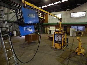 Mig Welder For Sale >> Radial Boom Arm Mig Welder, Cigweld, Model 450 CV, arc ...