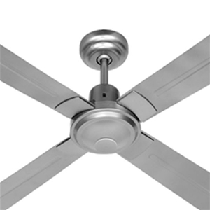 Omega sahara 4 blade ceiling fan brushed chrome 130cm auction omega sahara 4 blade ceiling fan brushed chrome 130cm aloadofball Gallery