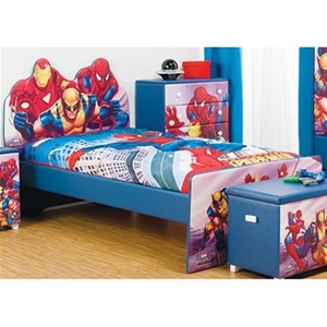Buy Single Bed Frame Colourful Mdf Kids Furniture With