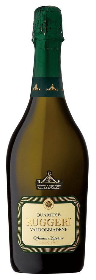 Ruggeri `Quartese` Prosecco NV (12 x 750mL), Veneto, Italy.