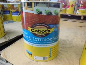 10lt Cabots Deck Exterior Stain Merbau Auction 0018 3121360 Graysonline Australia