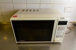 Microwave Oven Goldstar Model Er654pe 650w 240v Plug In Together