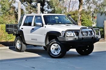 Unreserved 09 Nissan Patrol Dual Cab Coil Pack Turbo Diesel