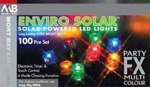 Mort Bay 100pc Enviro Solar Multicoloured Led Lights