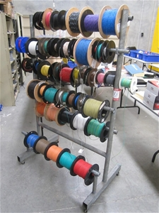 Mobile Cable Reel Dispensing Rack Auction 0188 7000109
