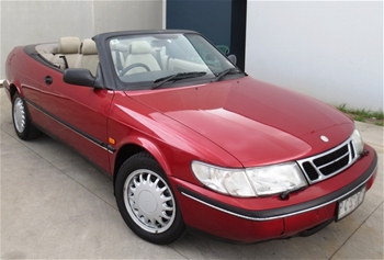 1997 saab 900s convertible 140269 automatic auction. Black Bedroom Furniture Sets. Home Design Ideas