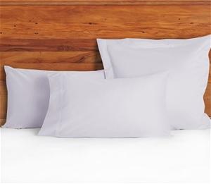 1200 TC Pillow Cases Lilac Mist x 2