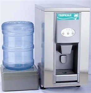 Countertop Ice Machine And Water Dispenser : Tropicale AIM-25-P Combination Countertop Ice Maker/Water Dispenser ...