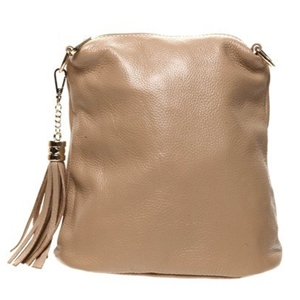 Ada G Mushroom Colour Genuine Leather Handbag