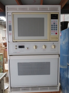 Chef banquet wall oven and microwave Auction (0169-3004418