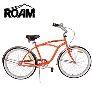Buy Roam Mens 26 Blood Orange Beach Cruiser Bicycle