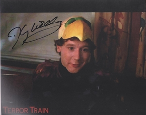 timothy webber terror train signed 250mm x 200mm photo auction