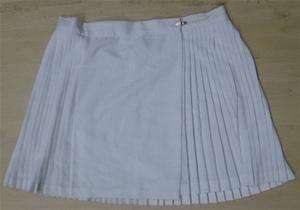 Track n Field netball skirt, white, size 20