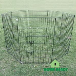 """36"""" 8 Panel Pet Playpen Fence Enclosure"""