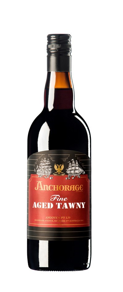 Angove `Anchorage` Fine Aged Tawny (6 x 750mL), SA.