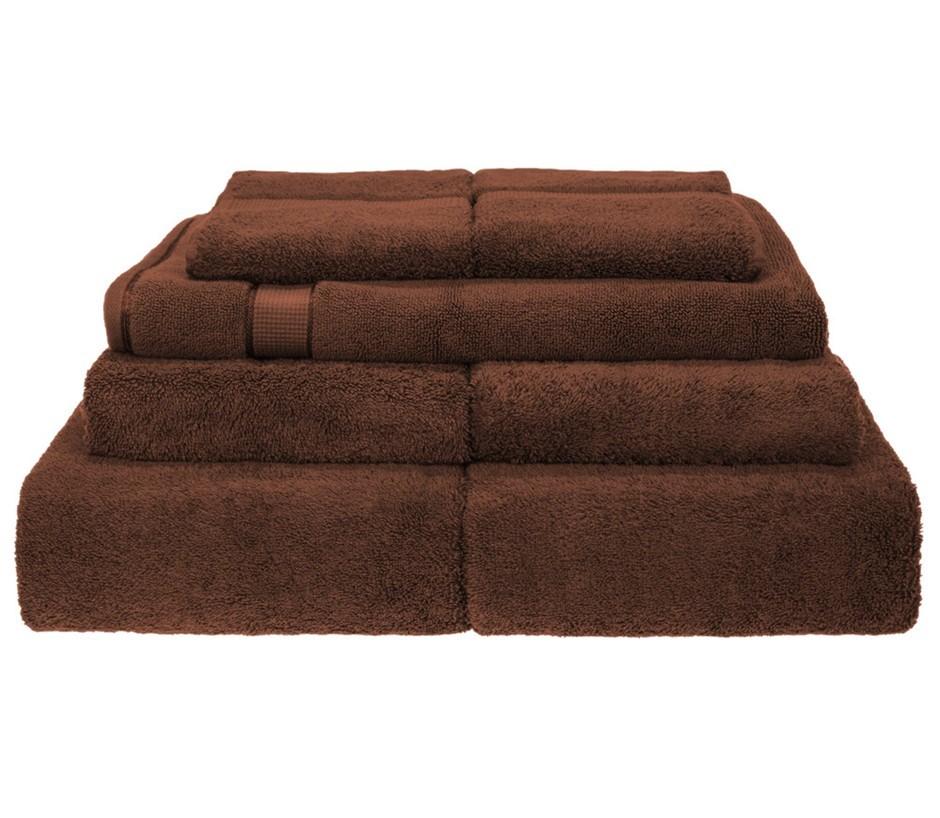 BeddingCo 700GSM Egyptian Cotton 7 Piece Towel Set - Chocolate