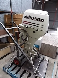 40 Hp Johnson 4 Stroke Outboard Motor Auction 0006