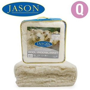 Jason Queen Size Wool Underblanket
