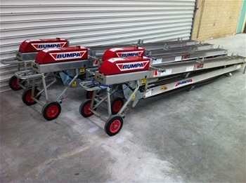 4 x Brick and Block Roof Tile Conveyors