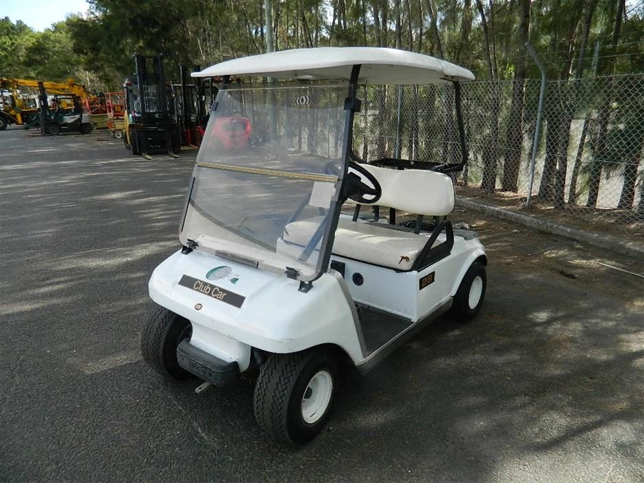 2004 Club Car 48V DS Golf Electric golf cart, Colour ...