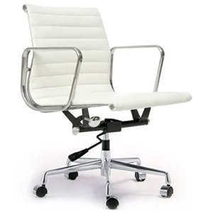 Brilliant Replica White Eames 319B Modern Designer Leather Office Home Interior And Landscaping Ferensignezvosmurscom