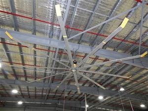 Factory ceiling fan big ass fan brand est 4m radius mounted on factory ceiling fan big ass fan brand e aloadofball Choice Image