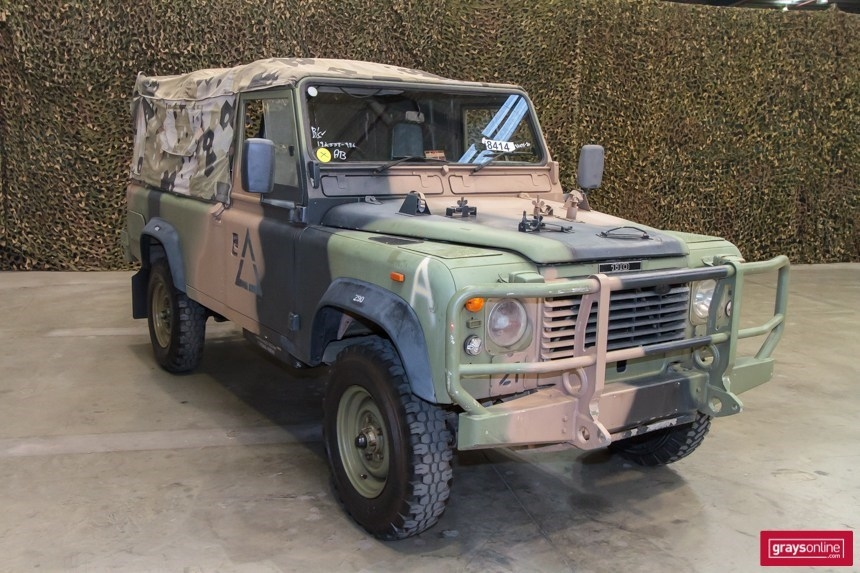 Hey guys I test drove a Ex army 110 today! - Page 2 - Australian 4WD