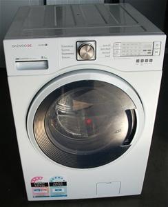Daewoo Inverter front loader 8.5kg washer model: DWD-LD1411 Auction