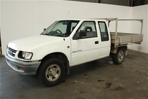 2001 Holden Rodeo DOHC V6 LX Space Cab Tray Back Ute