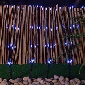 buy 8 solar led garden stick lights white graysonline australia