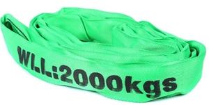 Round Lifting Sling, WLL 2000kg x 2M (Wi