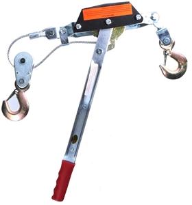 2 Tonne Hand Winch Puller, Single Gear,